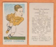 Scotland Jimmy Cowan Greenock Morton